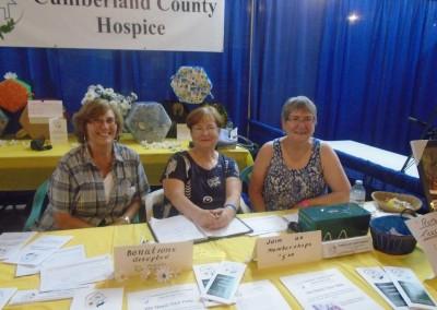Sharon Simons, Linda Campbell and Gerry Helm