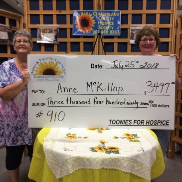 Toonies for Hospice